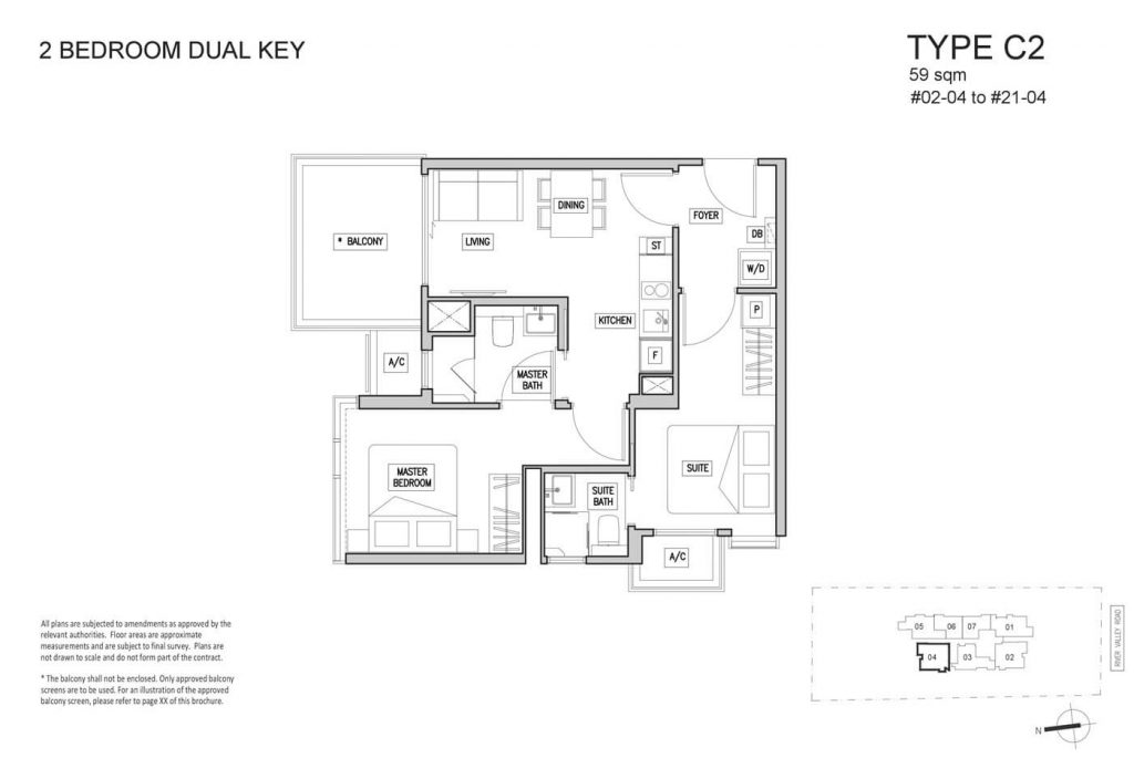RV Altitude Condo Floor Plans Singapore